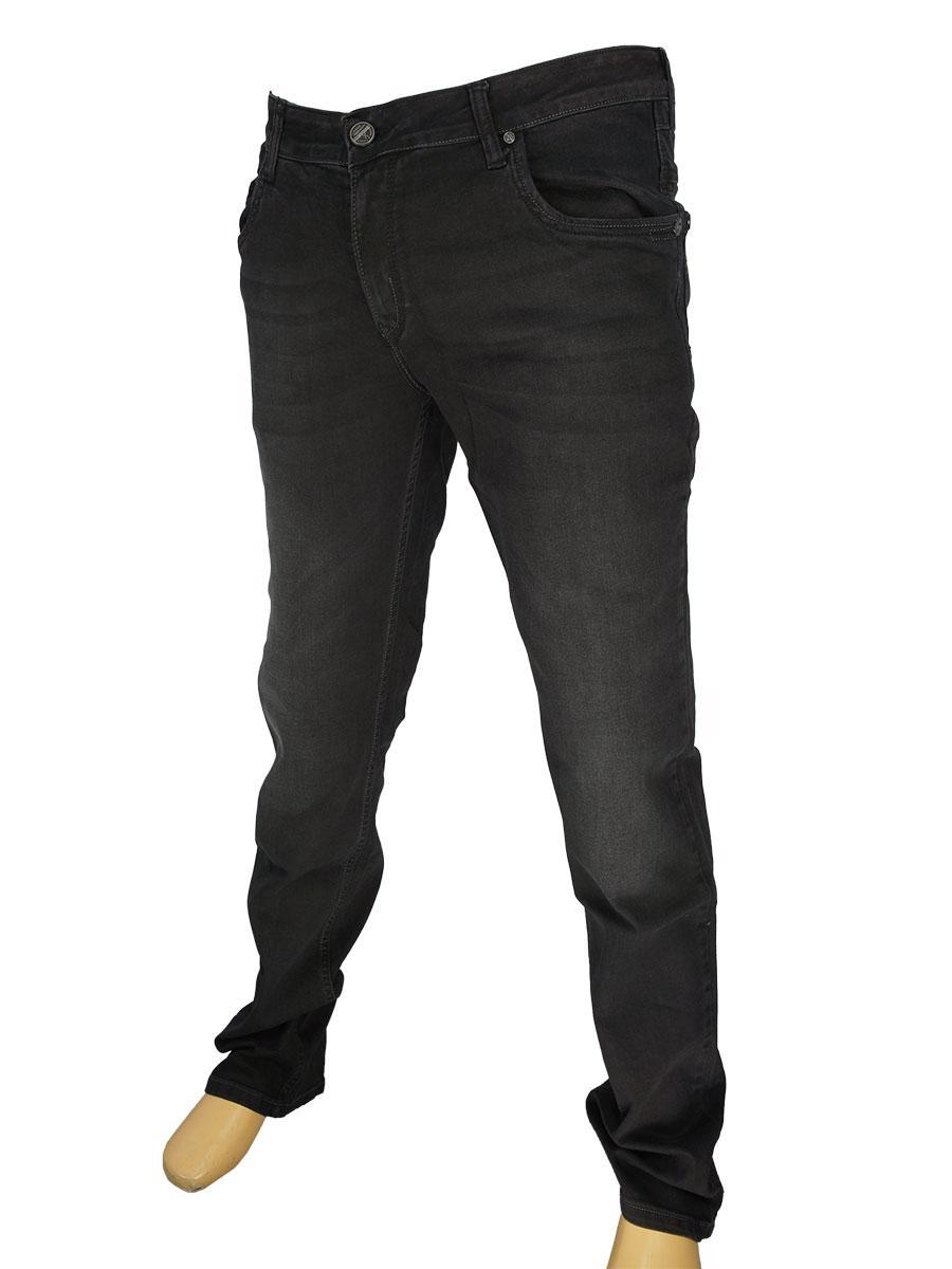 Серые мужские джинсы X-Foot 1744 в большом размере