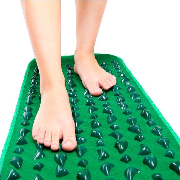 Массажный коврик с камнями для ног
