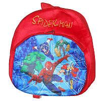 "Мягкий рюкзак  555-70 ""Спайдермен"""