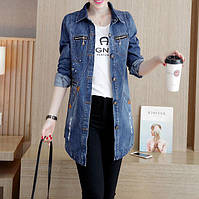 Женская джинсовая куртка Lang РМ7650