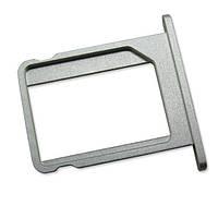 Лоток (держатель) сим карты для iPhone 4, 4s (Silver) Original