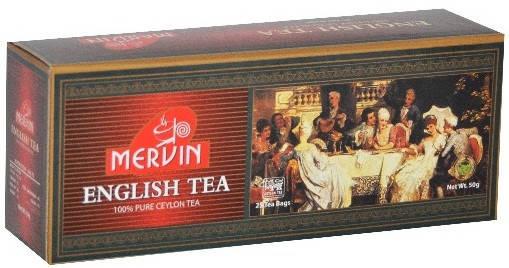 Чёрный чай, Mervin, 2 г х 25, фото 2