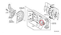 Nissan Leaf Поршневий циліндр супорта
