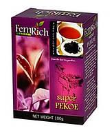 """Черный среднелистовой цейлонский чай """"Super Pekoe"""", FemRich, 100г"""