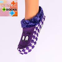 Детские вязаные следы с тормозами Home socks 8192-11. 1 пара. 16 см.