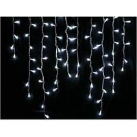 Гирлянда новогодняя LED Бахрома 3х0.5м белый каучук белое свечение