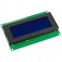 Дисплей LCD 20x4 с подсветкой 20 символов 4 строки - Жидкокристалический экран для Arduino