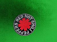 НАШИВКА  RED HOT CHILI PEPPERS - велика вишита нашивка
