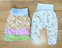 Ползунки для новорожденных кулир (рост 68 см)
