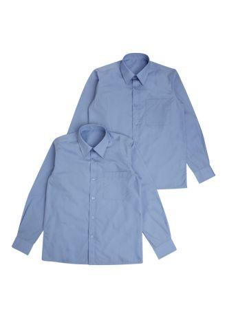 Блакитна сорочка шкільна 6,7,8,9,10 клас