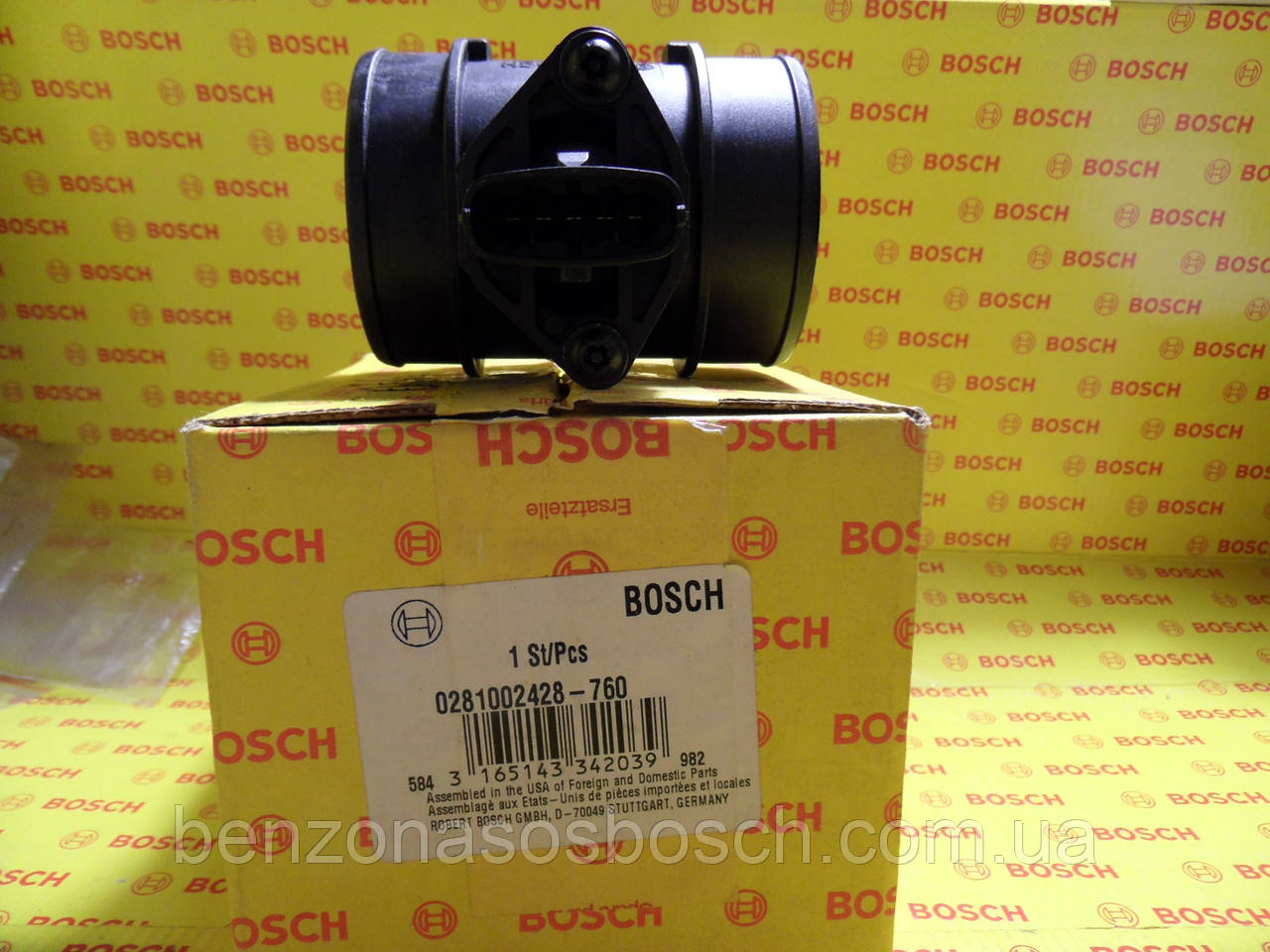 ДМРВ, Bosch, 0281002428, 0 281 002 428