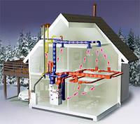 Воздушное отопление помещений. Киевская область