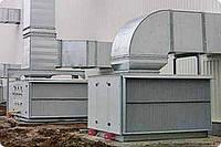 Воздушное отопление складов. Киевская область