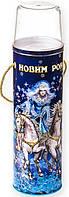 "Новогодняя упаковка тубус - ""Снежная Королева"" на 1500 гр."