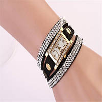 Женские часы на кожанном браслете