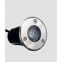 Грунтовый тротуарный led светильник 1W , LM14