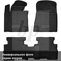 Коврики салона (резиновые, черные) avto-gumm Kia Cerato III (киа церато/черато/серато 2013+)