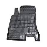 Коврики салона (резиновые, черные) avto-gumm Kia Sportage III SL (киа спортаж/спортейдж 2010-2015), фото 2