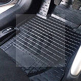 Коврики салона (резиновые, черные) avto-gumm Kia Sportage III SL (киа спортаж/спортейдж 2010-2015), фото 3