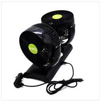 Автомобильный двойной вентилятор AIRG Double-Headed Vehicle Fan HF-V998