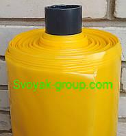 Пленка желтая тепличная UV-2%,200мкм,6х50м.