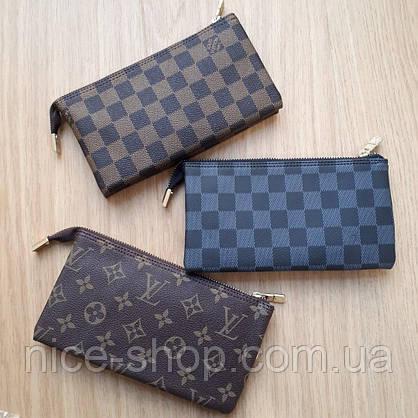 Мини-клатч Louis Vuitton,серая клетка, фото 3
