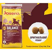 Корм для собак Josera balance корм йозера балансе 15кг + Бесплатная  доставка