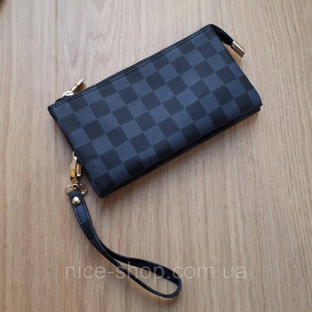 Мини-клатч Louis Vuitton,серая клетка