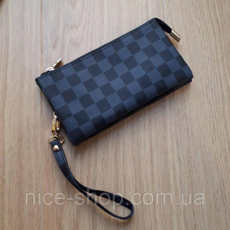 Мини-клатч Louis Vuitton,серая клетка, фото 2