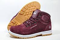 Женские зимние ботинки Baas, (Бордо)