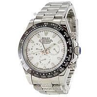 Мужские часы Rolex Daytona AAA Silver-Black-White, механические часы Ролекс Дайтона качество