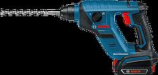 Аккумуляторный перфоратор Bosch GBH 18 V-LI Compact Professional (2 А/ч, 1 Дж)