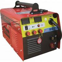 Сварка инверторная полуавтомат Edon MIG-210, инверторный полуавтомат, сварка проволокой и электродом, плавная