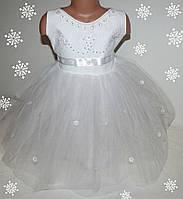 Новогоднее платье 2-5 лет (без шнуровки на молнии)