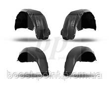 Комплект Защита колесных арок (подкрылки) Geely GC5 (Джили джи-си 5) 2013+