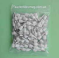 Наконечник кабельный втулочный НВ 10.0 / 12 мм., упаковка - 100 шт.