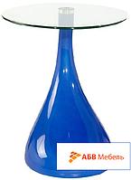 Журнальный стол Перла синий (СДМ мебель-ТМ)