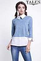 Блузка с воротничком Magda