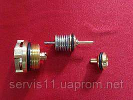 Ремкомплект трехходового Fugas (втулка, шток, клапан переключающий)