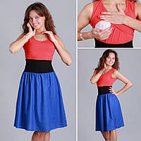 Платье Юлия для кормления и беременных L