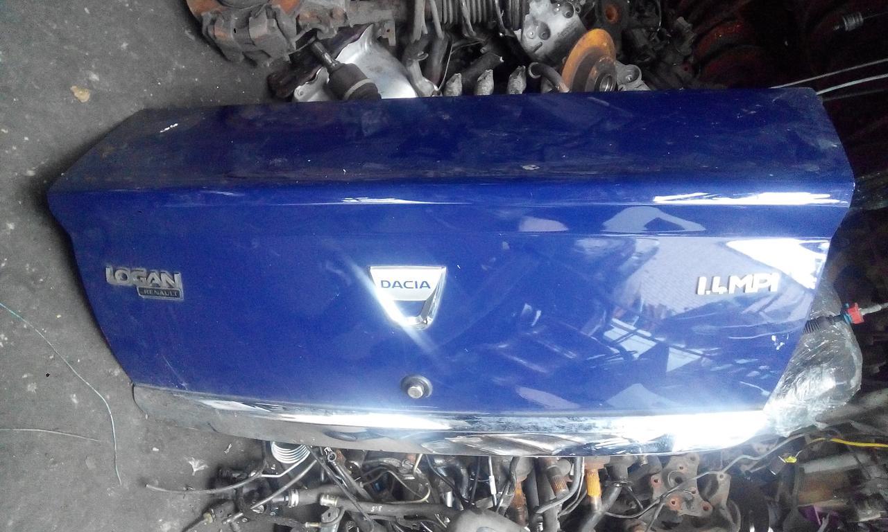 Крышка багажника Рено Логан ф 2  б/у