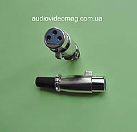 Соединение микрофонное, гнездо Canon