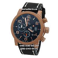 Часы Tag Heuer Grand Carrera Srort Chronograph Gold/Black. Реплика Premium качества (ААА), фото 1