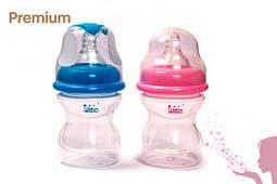 Бутылочки Lindo для кормления с широким горлом