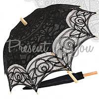 Зонт декоративный (от солнца), h-65.5 см, d-81,5 см чорный (209-9008)