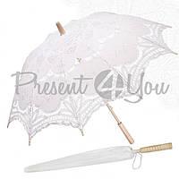 Зонт декоративный (от солнца), h-65.5 см, d-81,5 см белий (209-9002)