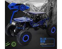 Машина на радиоуправлении синий Rock Crawler HB-P1001