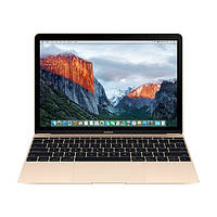 "Ноутбук Apple MacBook 12"" Gold (MLHE2) 2016 СРО 12"" Intel Core m3-6Y30(0,9-2,2 ГГц) 8ГБ 256ГБ SSD Гарантия!"