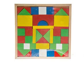 Іграшка дерев'яна Кубики Міста