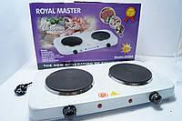 Электрическая плита 2 дисковая Royal-Master  2020A  2000w